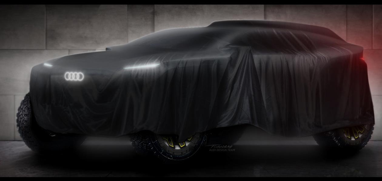 Audi выступит в ралли «Дакар» на электрическом прототипе