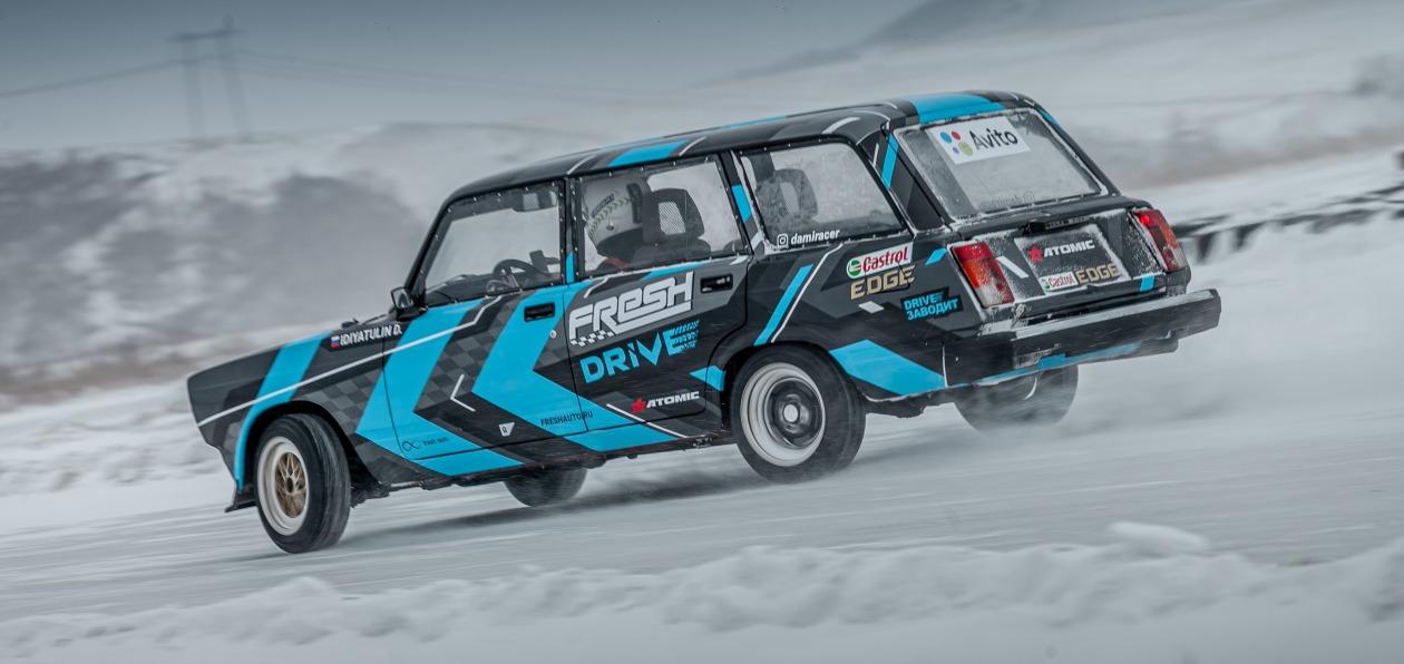 Дрифт-кары команды Fresh Auto продолжат ездить на маслах Castrol