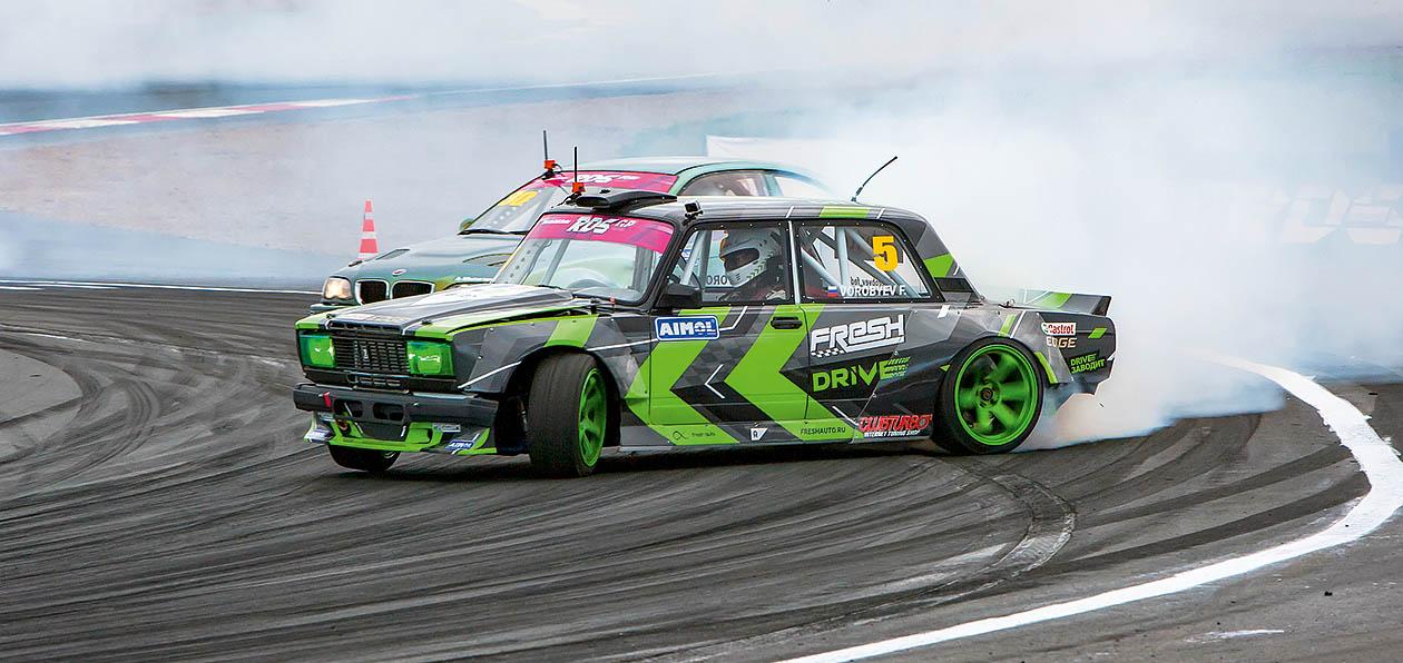 Проникаем в закулисье RDS вместе с командой Fresh Auto Drift