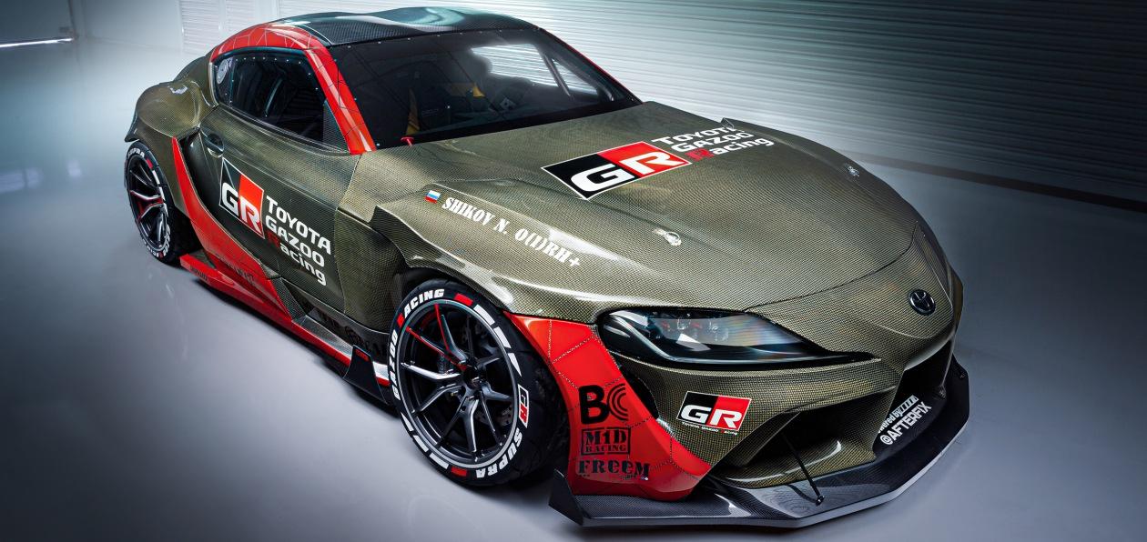 Toyota представила в России дрифт-версию новой GR Supra