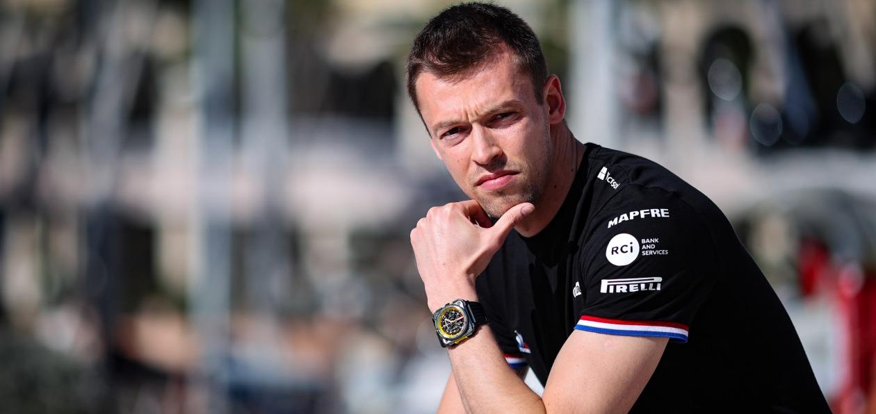 Даниил Квят стал резервным пилотом Apline F1