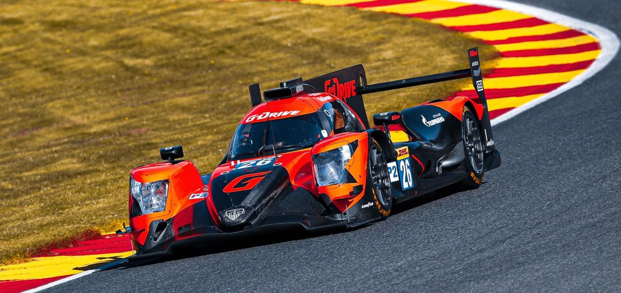 G-Drive Racing провели непростую гонку в Спа