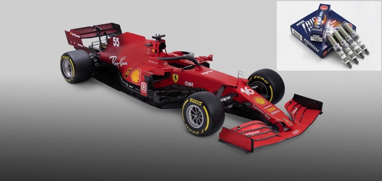 Scuderia Ferrari продолжит использовать свечи NGK