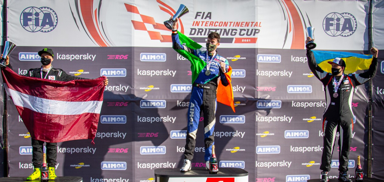 Джеймc Дин стал чемпионом FIA Intercontinental Drifting Cup