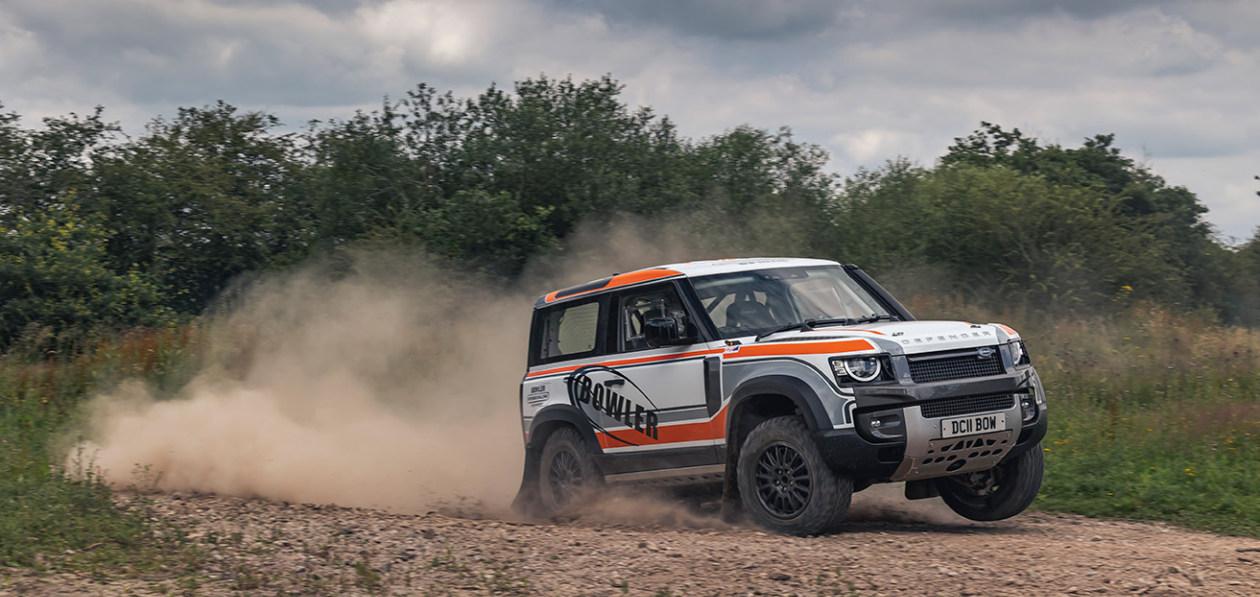 Bowler представил ралли-версию Land Rover Defender
