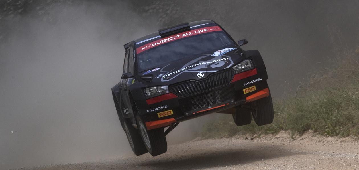 Лукьянюк триумфально завершил этап WRC в Эстонии