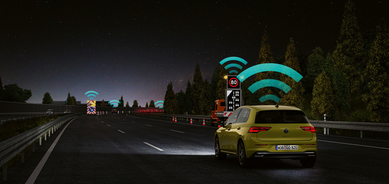 Euro NCAP наградил Volkswagen за разработку системы «общения» между автомобилями