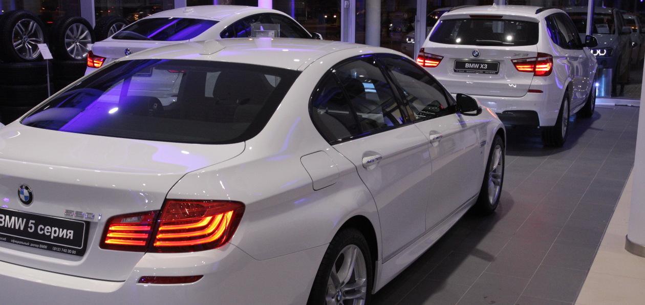 Дилеры BMW в ряде регионов России частично возобновили работу