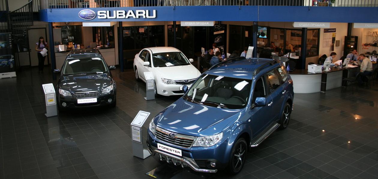 Subaru празднует 20 лет работы в России