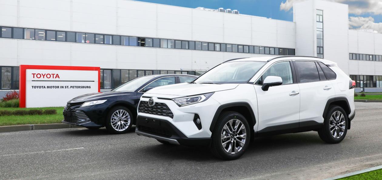 Автомобили Toyota российской сборки будут поставляться в Армению