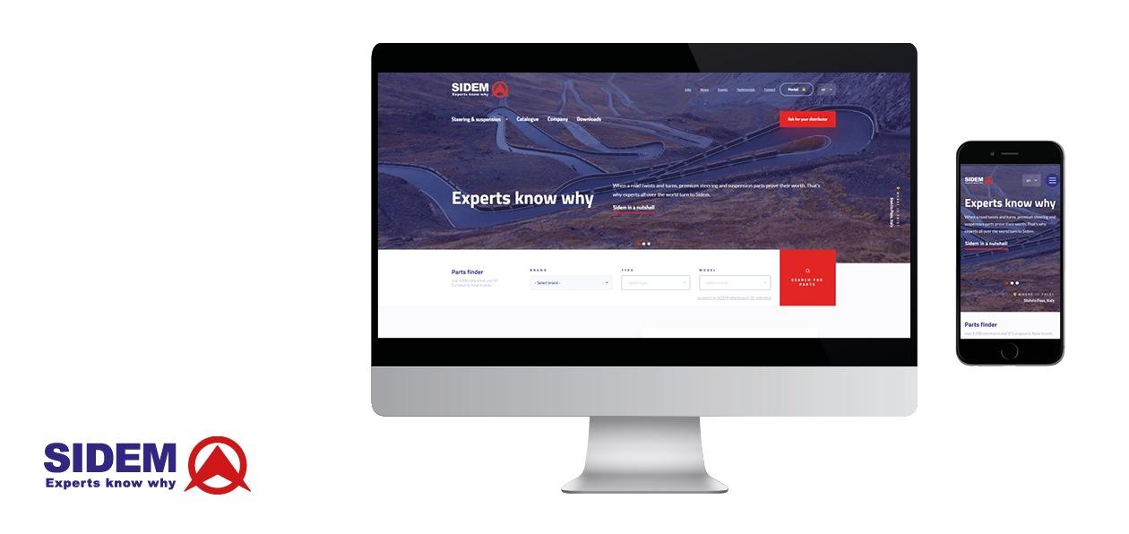 Sidem обновил официальный сайт