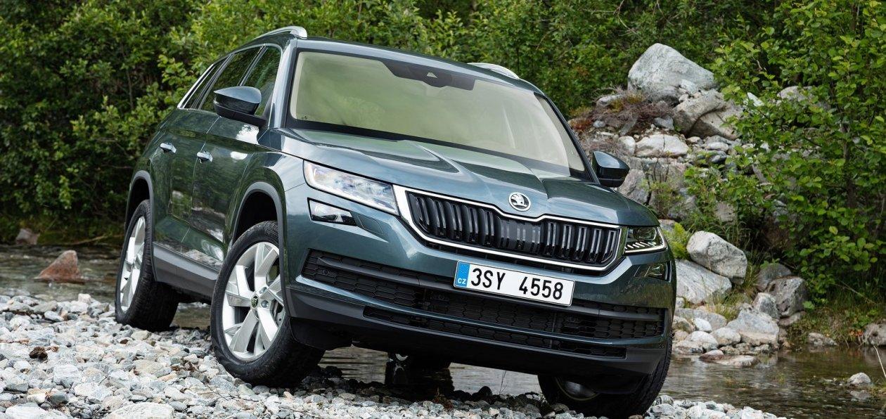 Skoda Kodiaq и Volkswagen Tiguan попали под отзыв в России