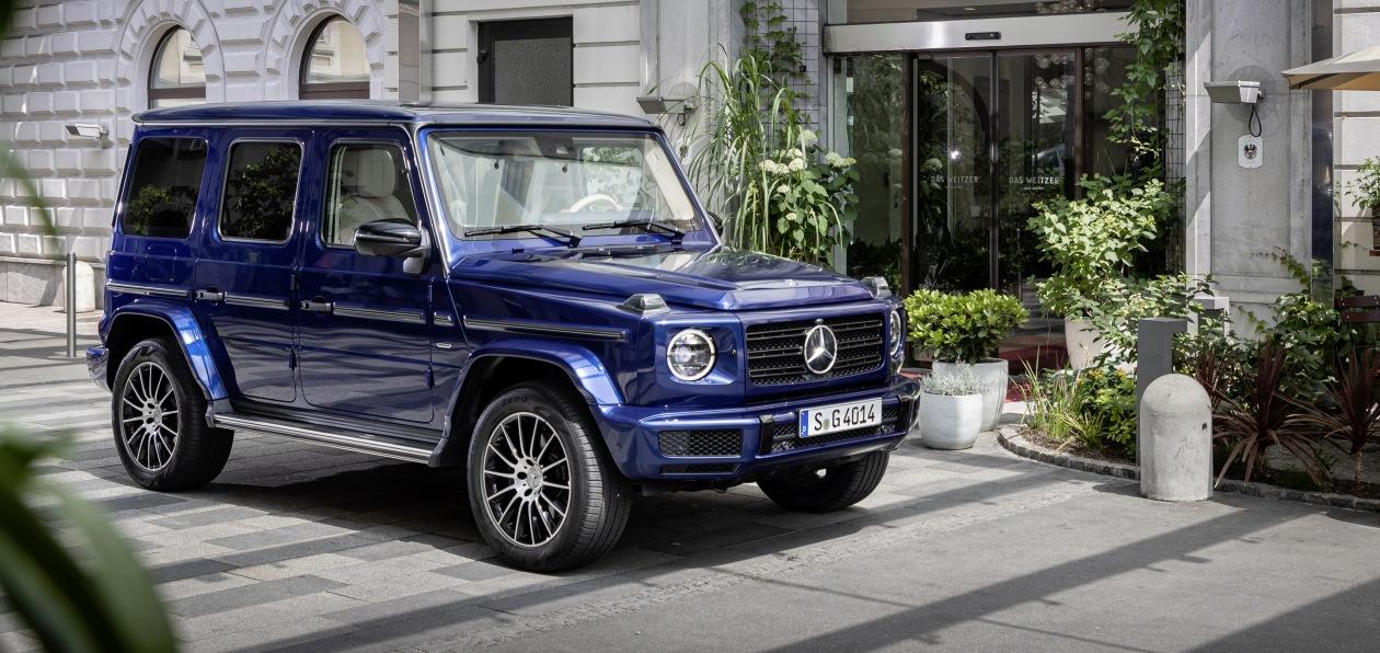 Новый Mercedes G-Class попал под отзыв в России