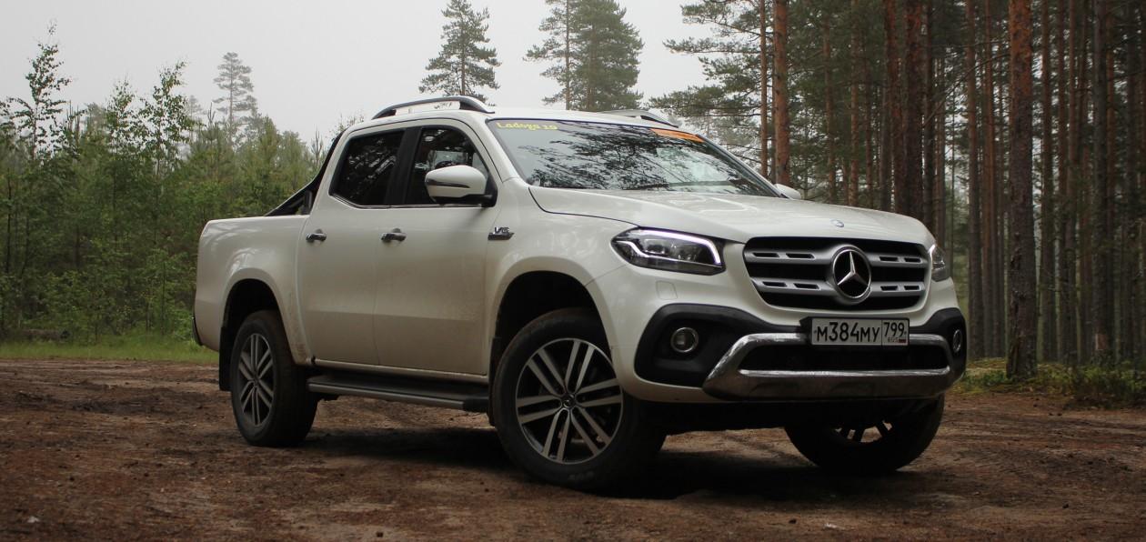 Mercedes отзывает больше тысячи пикапов в России