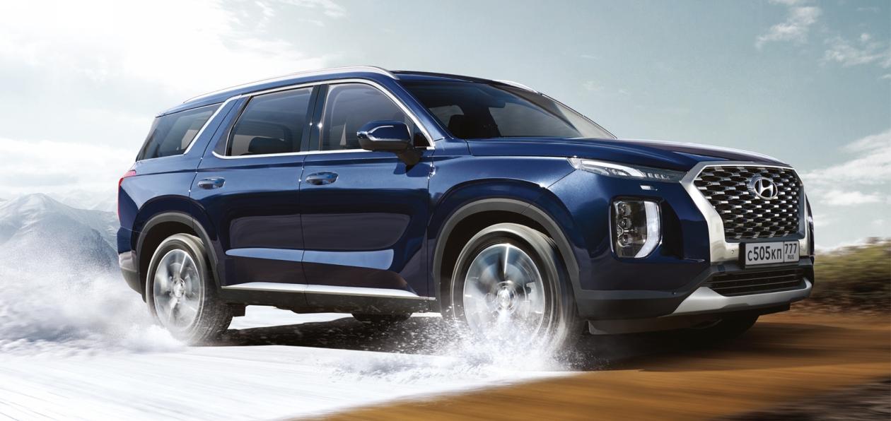 Hyundai представила в России новый флагман Palisade
