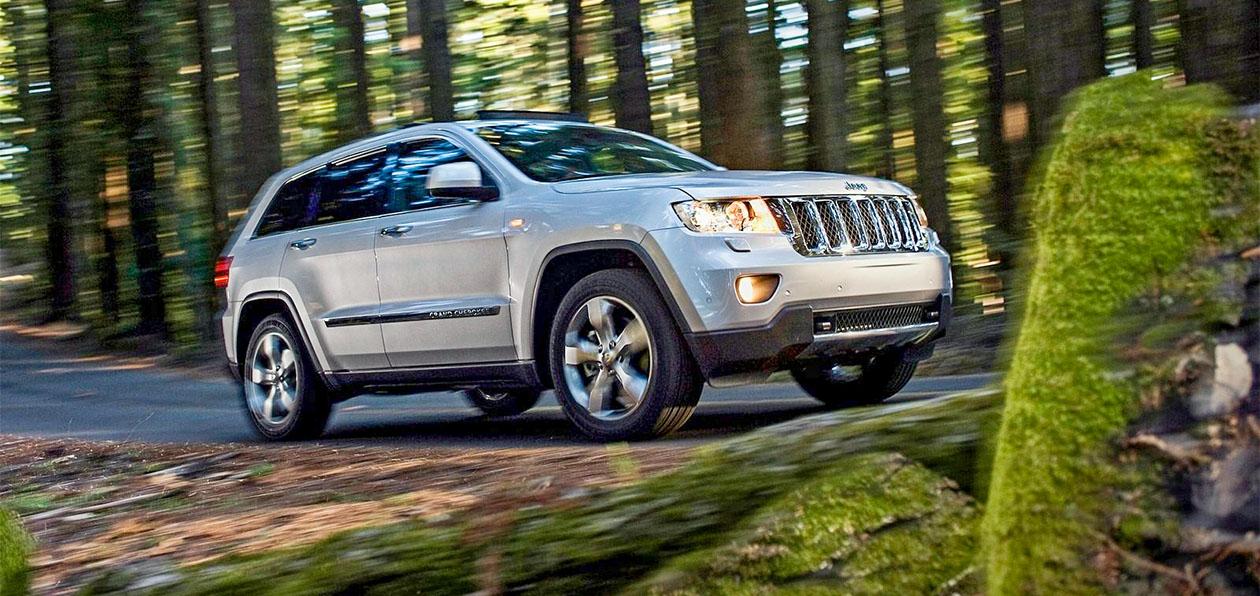 Внедорожники Jeep Grand Cherokee могут заглохнуть на ходу