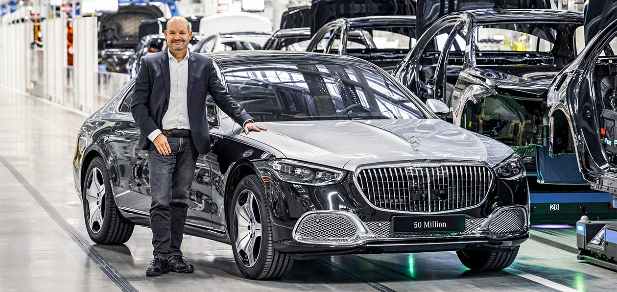 Mercedes выпустил 50-миллионный автомобиль