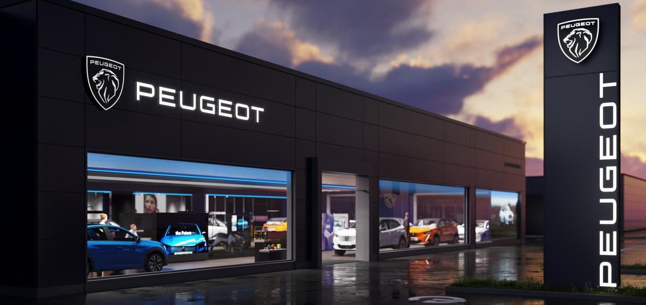 Peugeot представил новый фирменный стиль