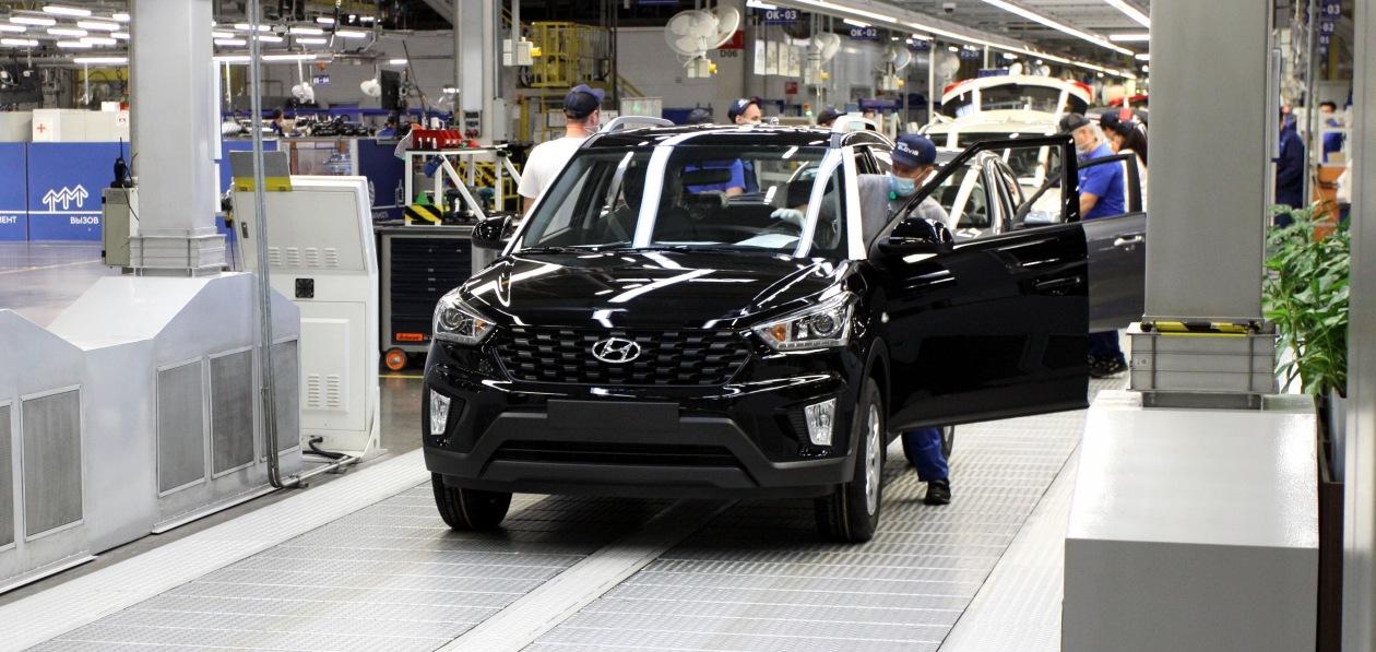 Завод Hyundai в Петербурге наращивает объемы производства