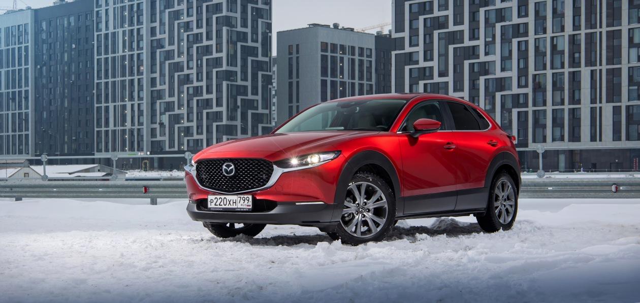 Mazda отзывает в России кроссовер CX-30