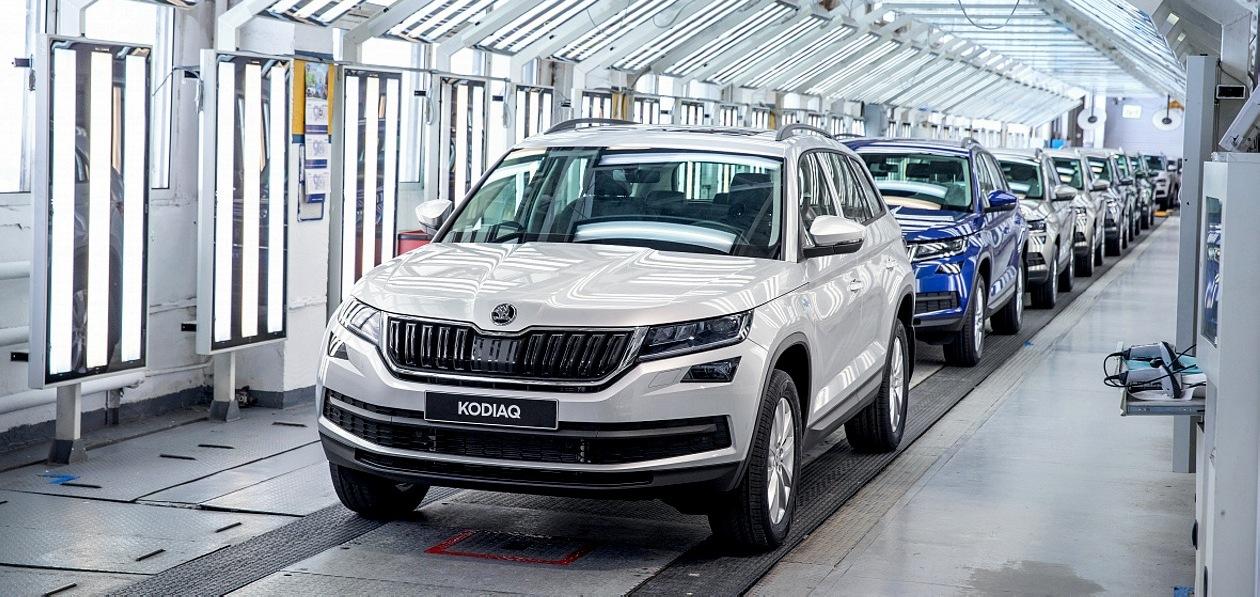Skoda выпустила в России 750-тысячный автомобиль