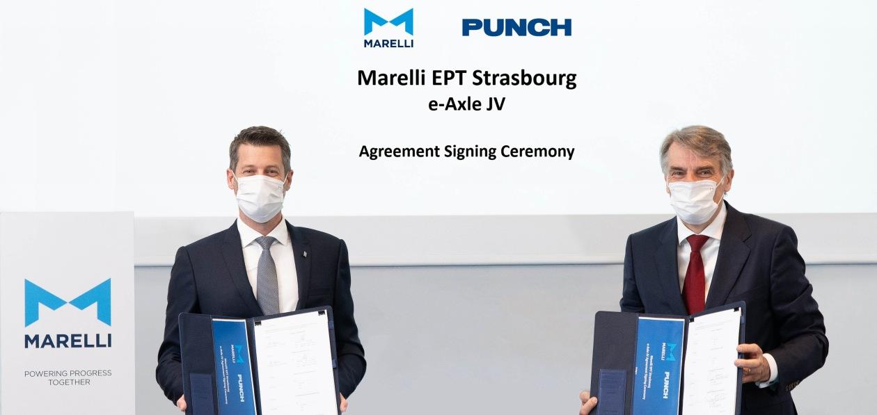 Marelli и Punch будут вместе выпускать электромосты
