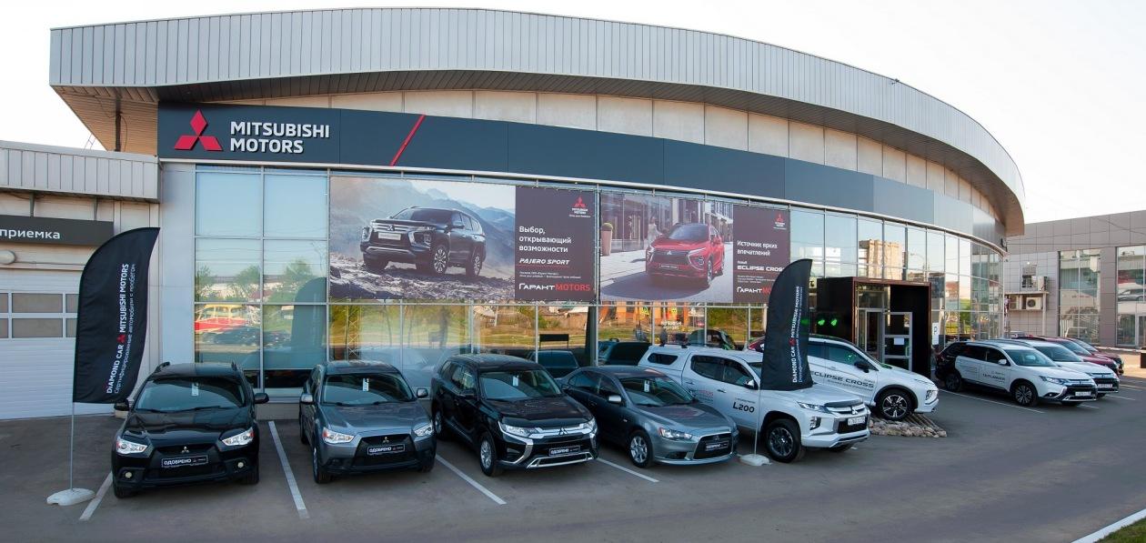 В Ижевске заработал обновленный дилерский центр Mitsubishi