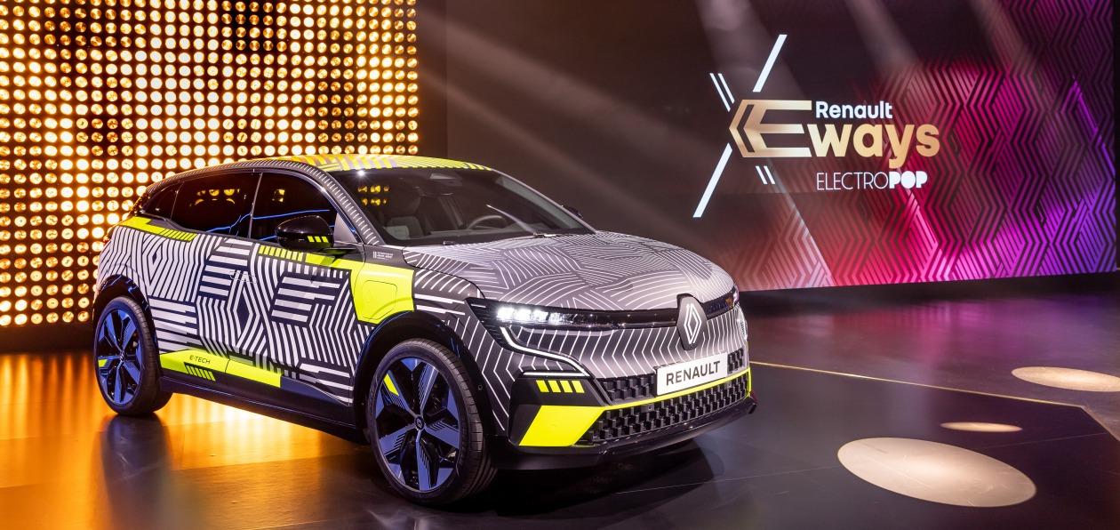 Renault представила новую стратегию электрификации