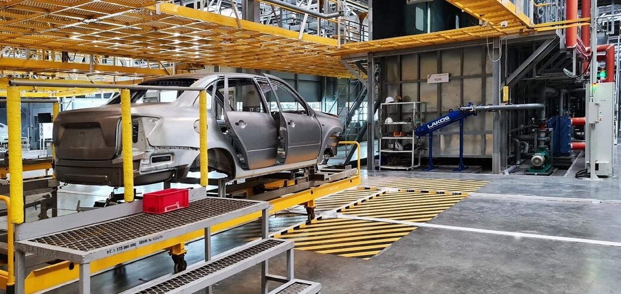 АвтоВАЗ открыл новое производство в Казахстане