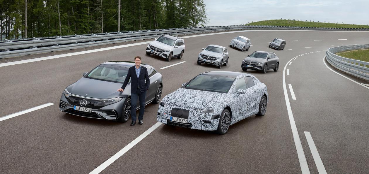 Mercedes-Benz полностью перейдет на электромобили в 2025 году