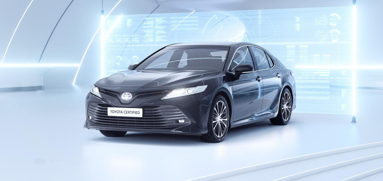 Toyota запустила программу сертификации подержанных автомобилей