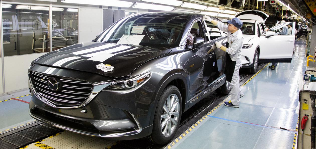 Mazda приостановит работу двух заводов из-за перебоев поставок из Китая