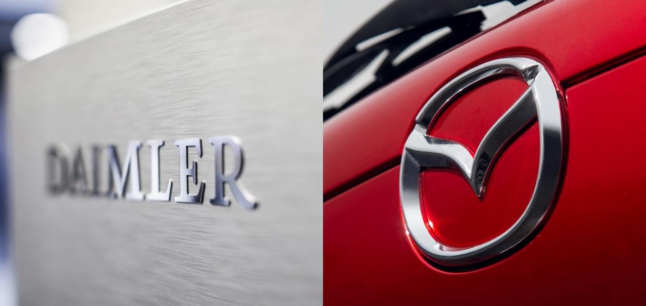 Daimler и Mazda приостановят производство из-за дефицита запчастей