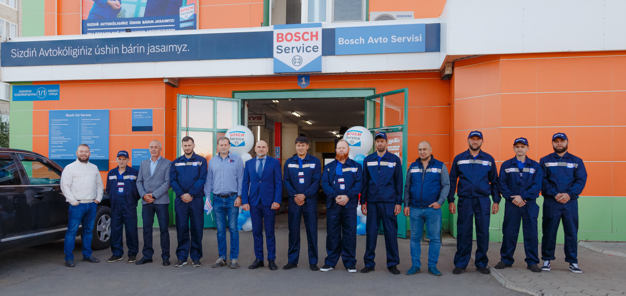 Bosch открыл новый фирменный сервис в Казахстане
