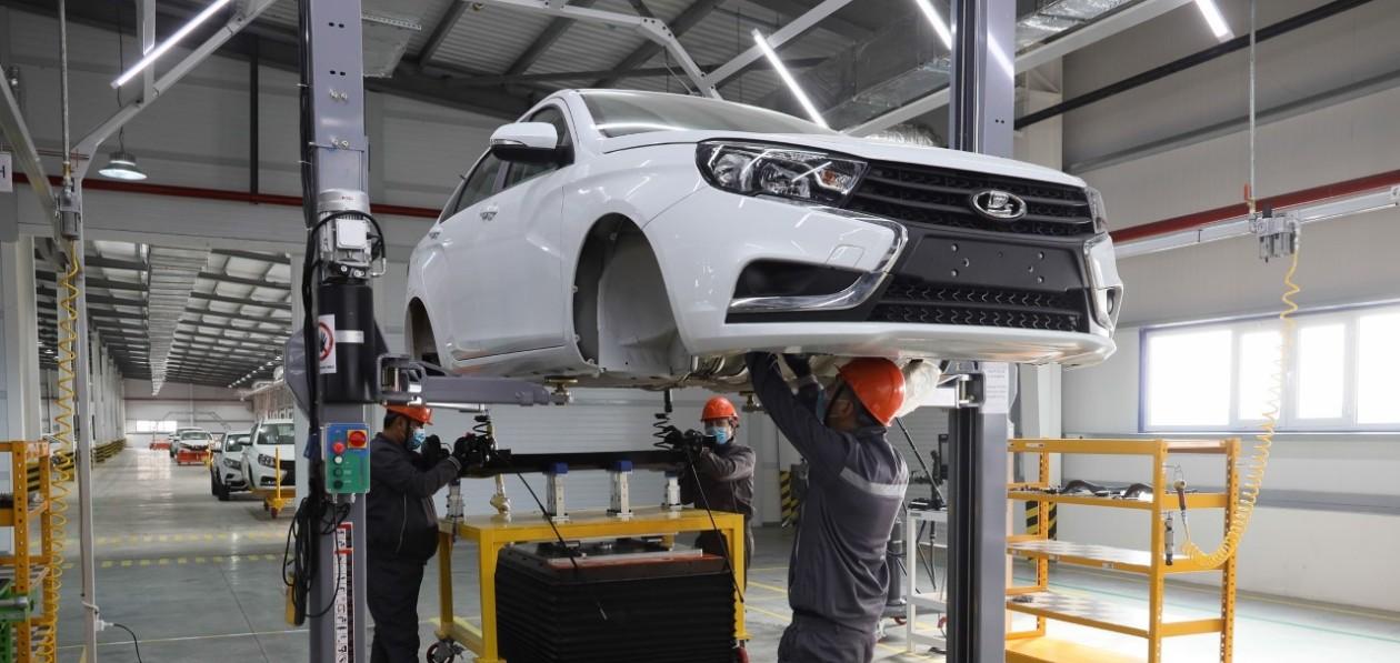 Lada будет серийно выпускаться в Узбекистане