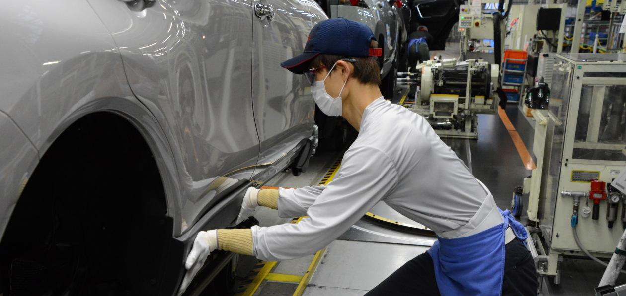 Toyota рассказала, какие заводы компании приостановят работу в октябре