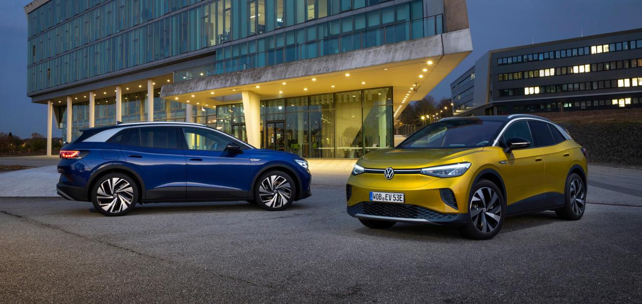 Все электрические Volkswagen теперь можно обновлять по воздуху