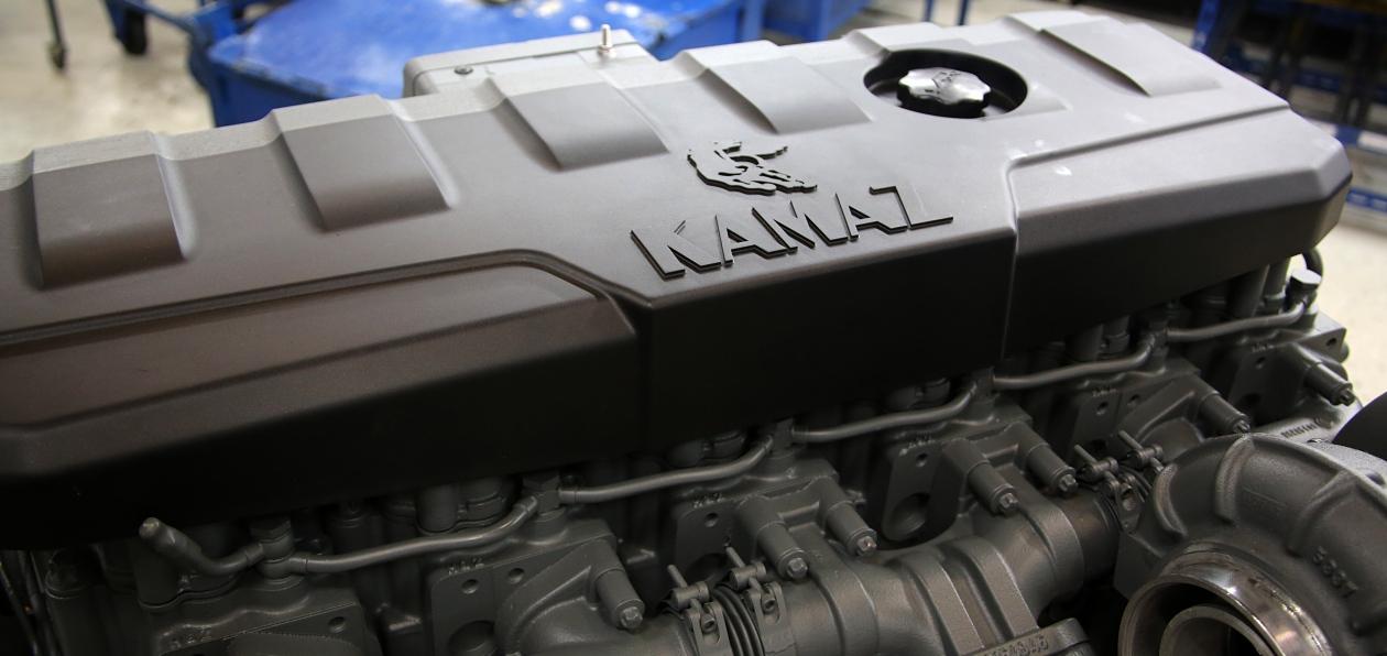 Грузовики КАМАЗ поедут на новых двигателях
