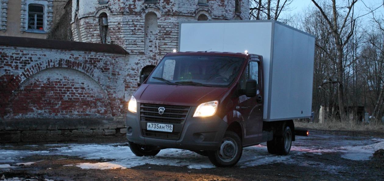тест драйв газель Next грузовик легкого поведения