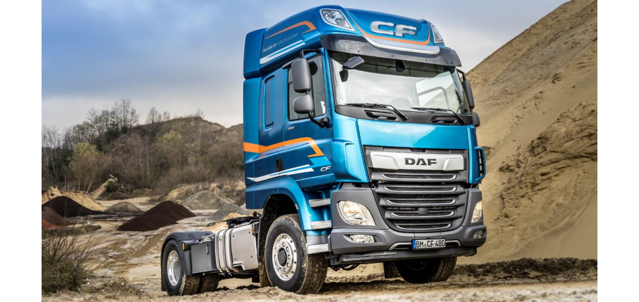 DAF оснастил CF и XF подключаемым передним приводом