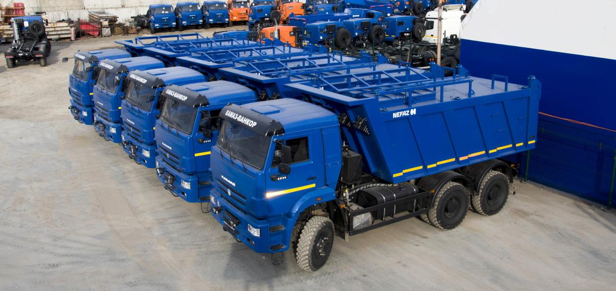 «КАМАЗ» представил самосвал для вывоза отходов нефтегазовой отрасли