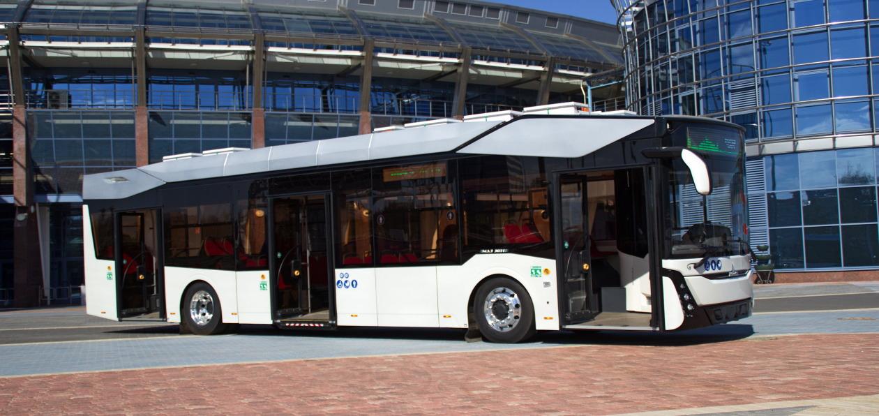 «МАЗ» представил первый электробус собственной конструкции