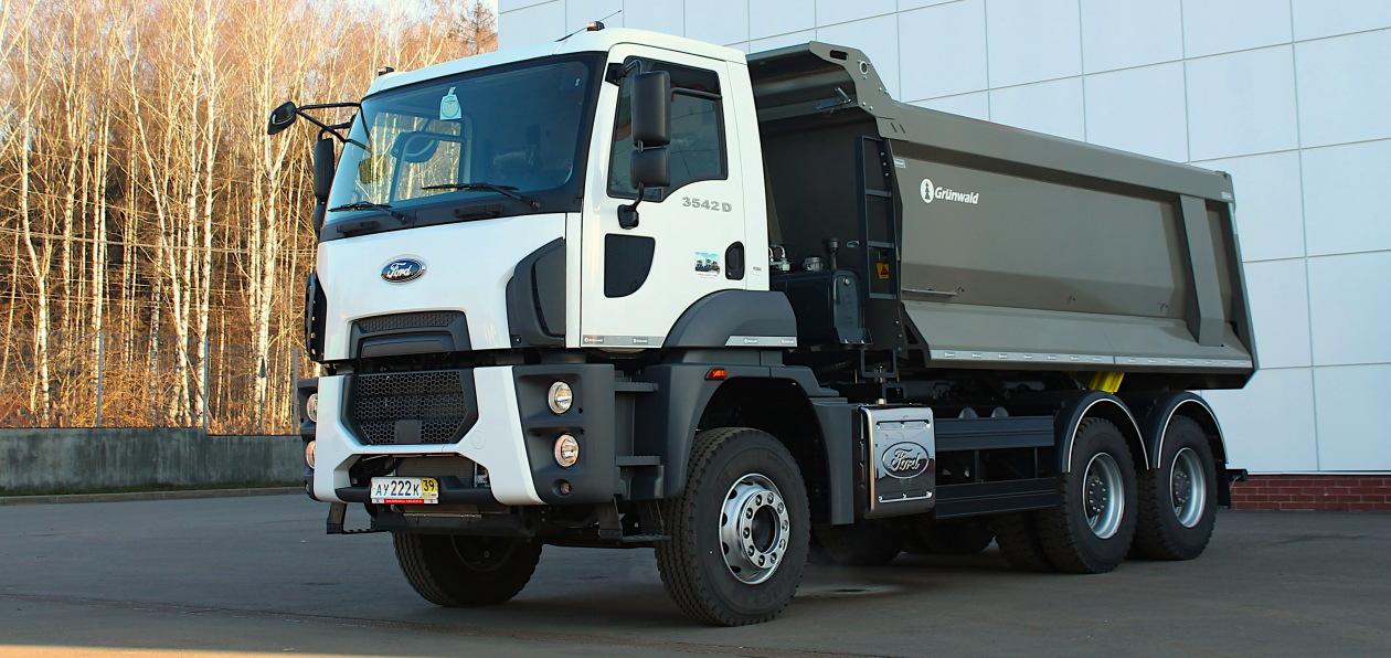 Самосвал Ford будет работать в московской строительной компании