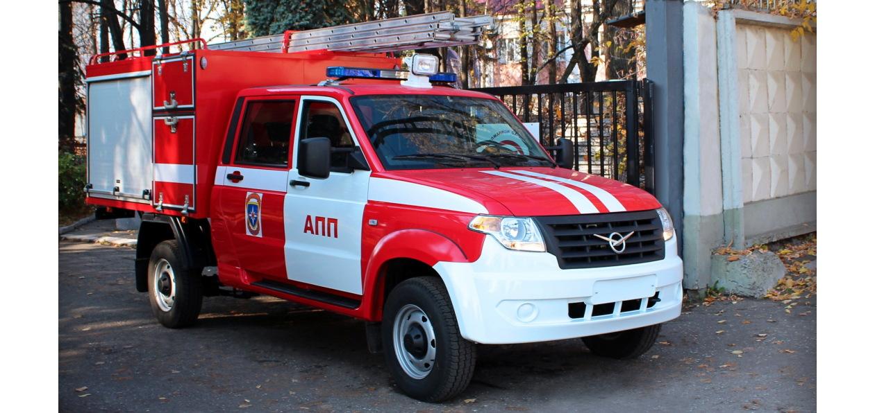 УАЗ «Профи» стал пожарной машиной