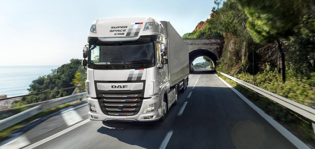 DAF представил новую спецверсию модели XF