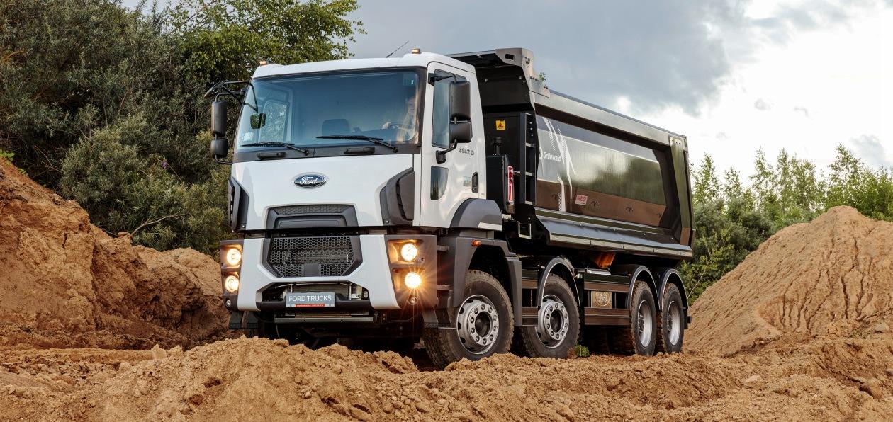 Ford Trucks разработал новый самосвал специально для России