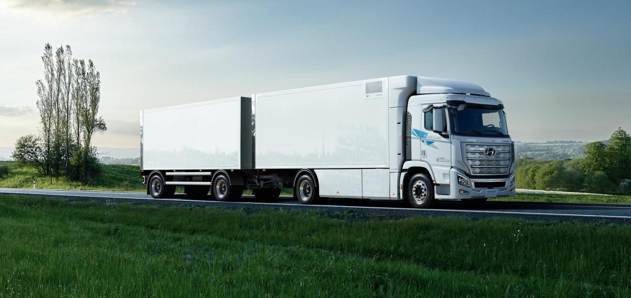 Водородный грузовик Hyundai будет работать в Швейцарии