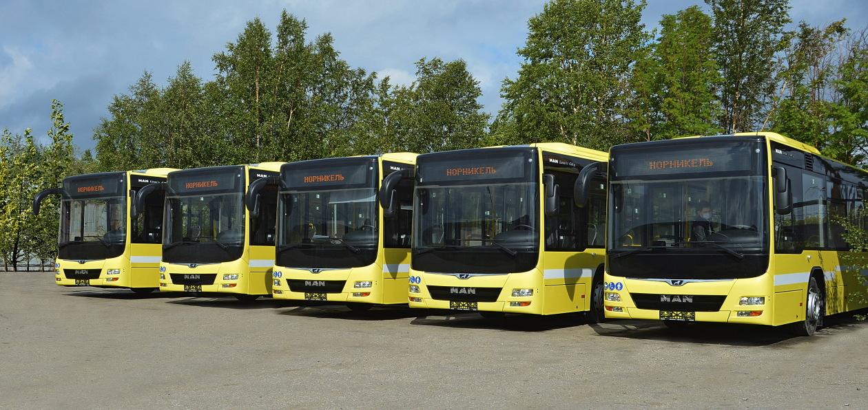 Автобусы MAN будут работать на Севере России