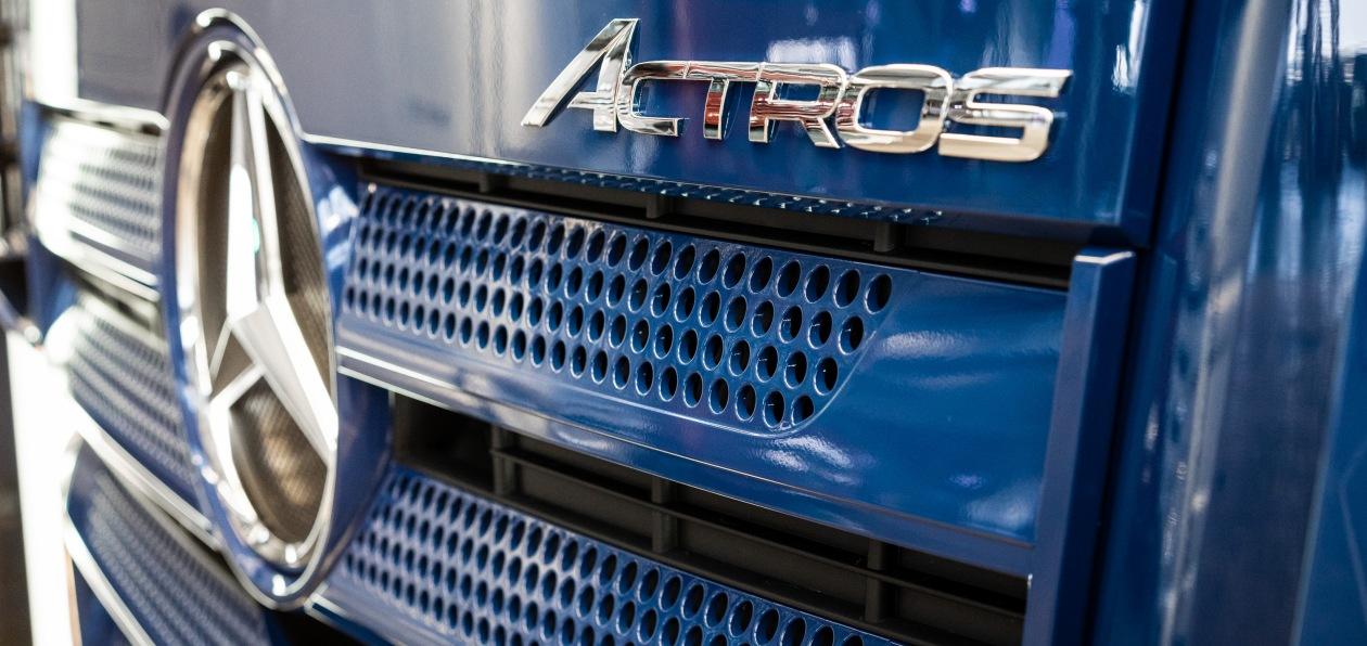 Mercedes показал новый Actros российского производства