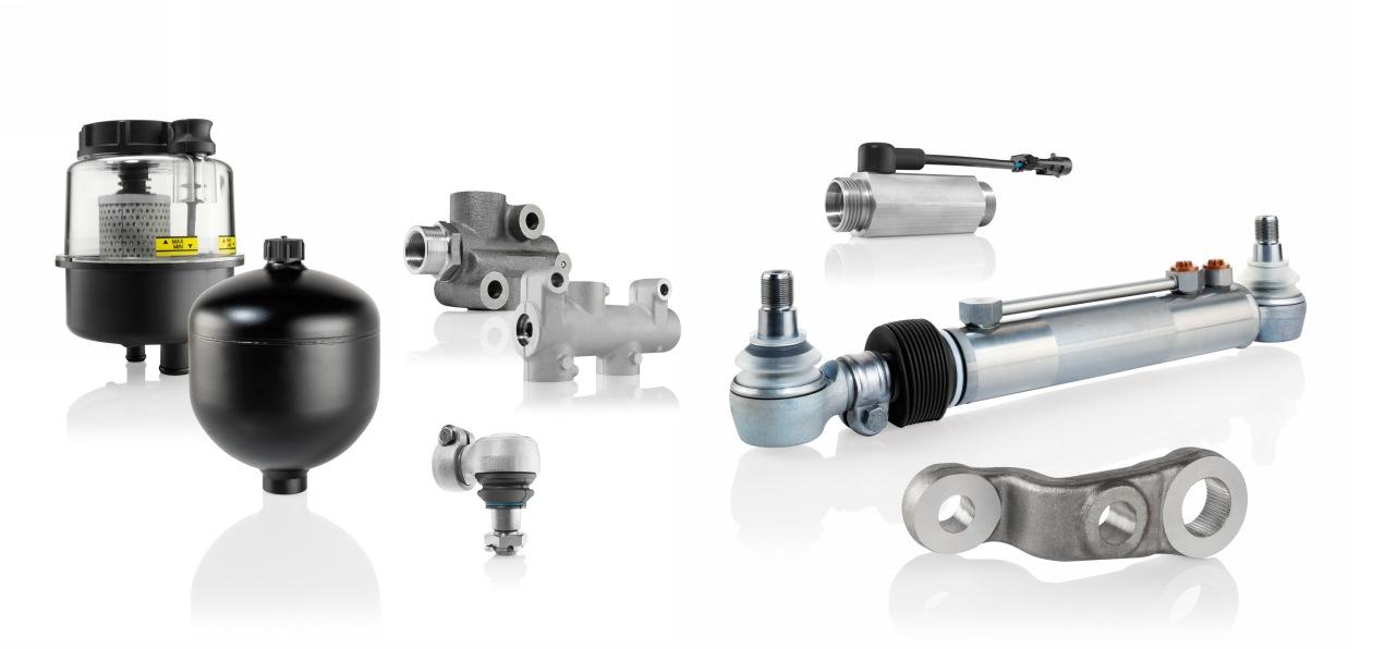 Bosch представил новые детали системы подруливающей задней оси